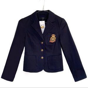 Y2K VINTAGE College BLAZER Jacket w/ Gold Patch